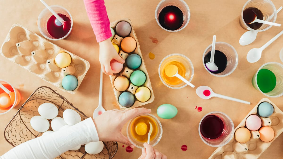 10 unique ways to decorate Easter eggs