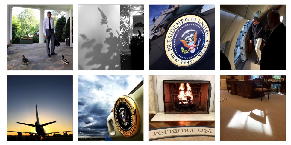 Instagram photos by White House photographer Pete Souza