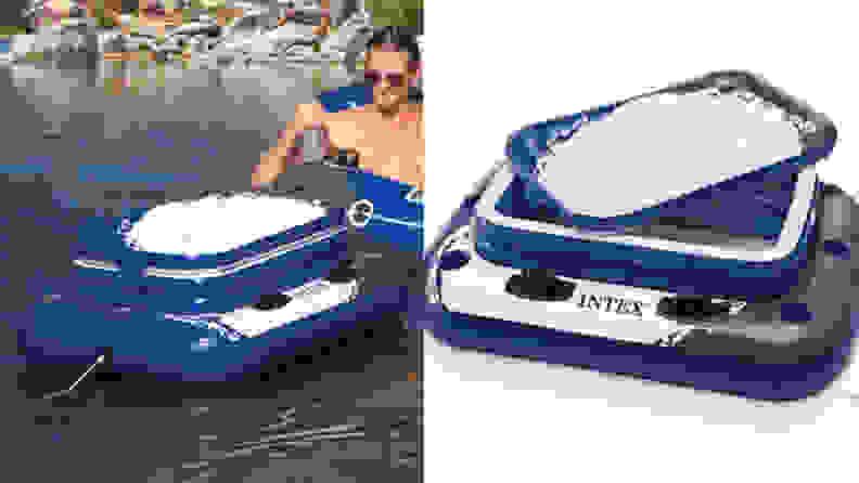 Intex cooler float
