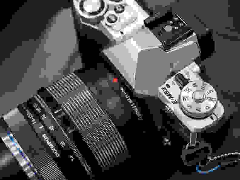 Olympus OM-D E-M5 –Mode Dial