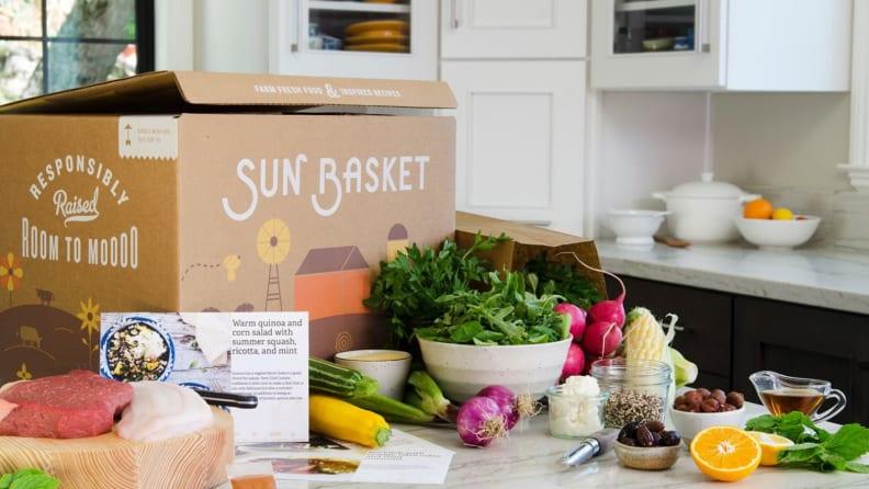 Sun Basket box
