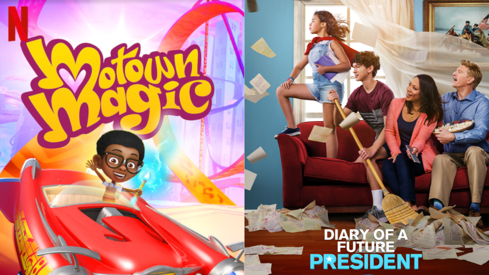 Motown Magic and Diary of a Future President are just two of our picks for diverse kids shows