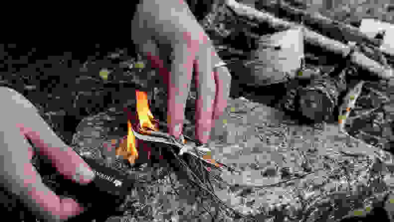 The Friendly Swede Magnesium Flint Fire Starter
