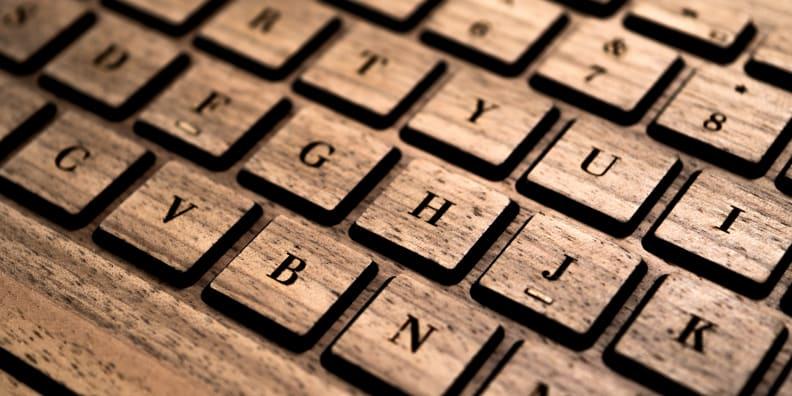 Keys Closeup