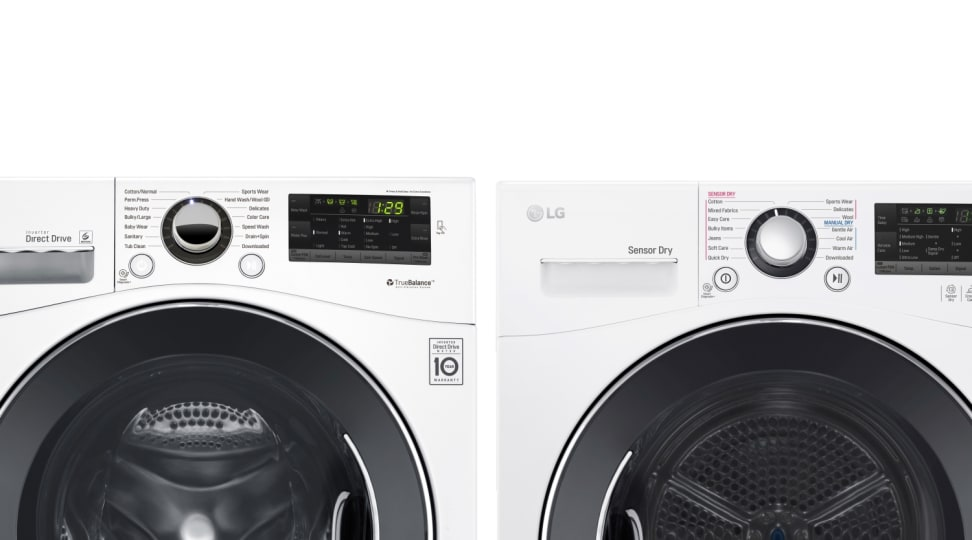 LG WM1388HW and DLEC888W compact washer and dryer