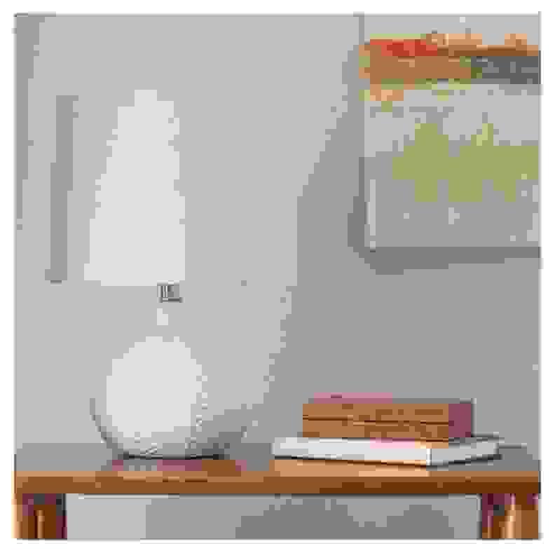 Target Herringbone Ceramic Lamp