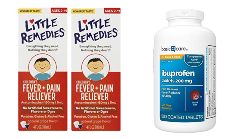 Stock-up on pain reliever and vitamins before flu season hits.