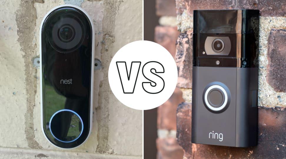 Nest Hello and Ring 3 Plus video doorbells