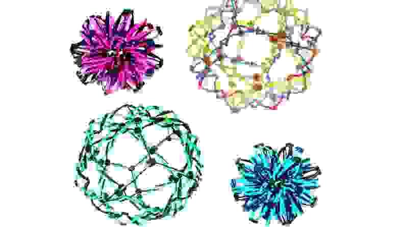 Four breathing balls
