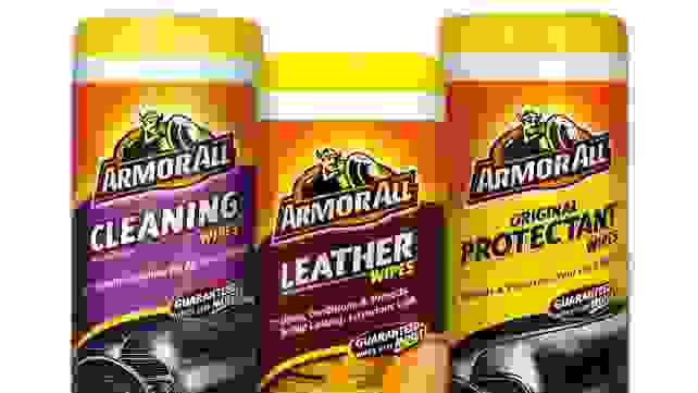 What parents should keep in the car - ArmorAll wipes
