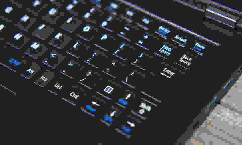 LaVie Z 360 - Keyboard