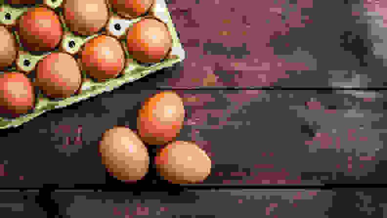 Eggs-in-shells