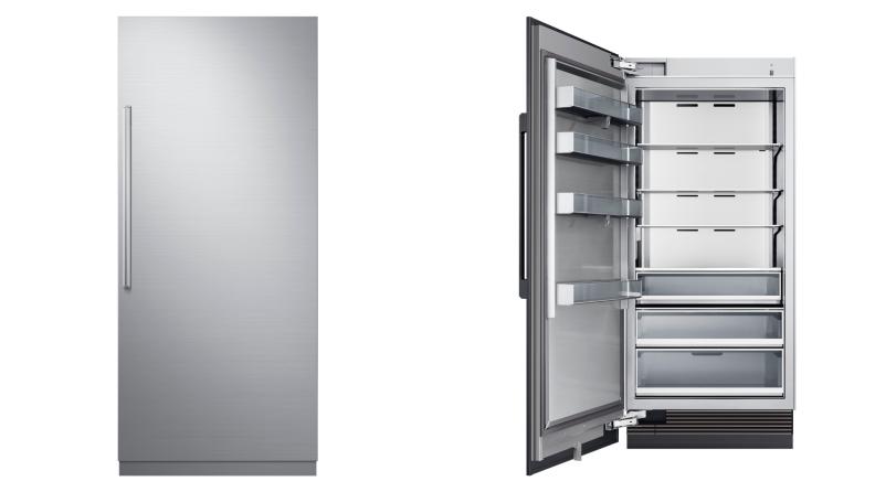 Column-refrigerators