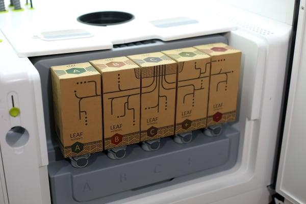 nutrient cartridges in LEAF