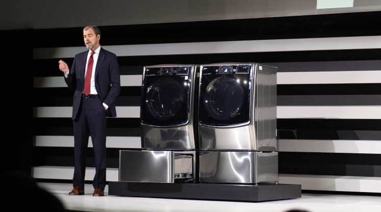 LG's Mini-Washer Lets You Do Two Loads at Once - Reviewed Laundry