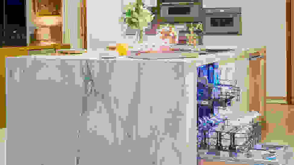 A luxurious Thermador dishwasher