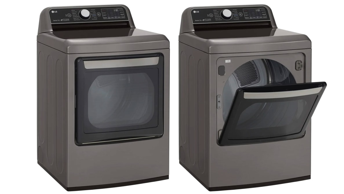 LG DLEX7800WE Dryer Review
