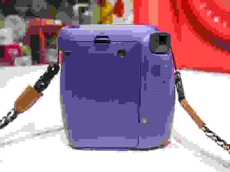 Instax Mini 8 (Grape) –Back Side