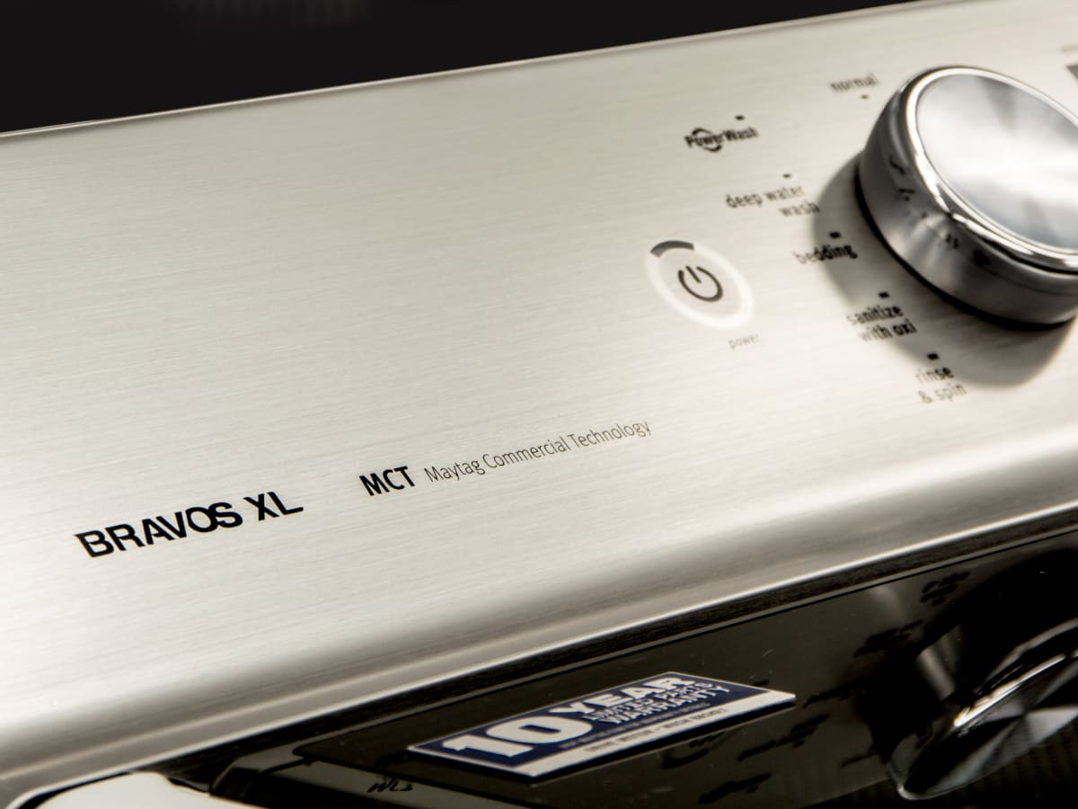 Maytag Bravos XL MVWB835DW Top-Load Washer Review - Reviewed Laundry