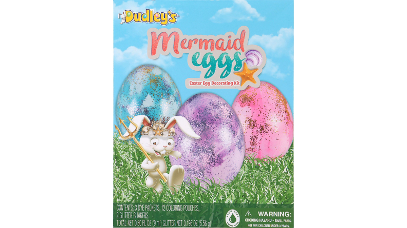 Mermaid Egg decorating kit