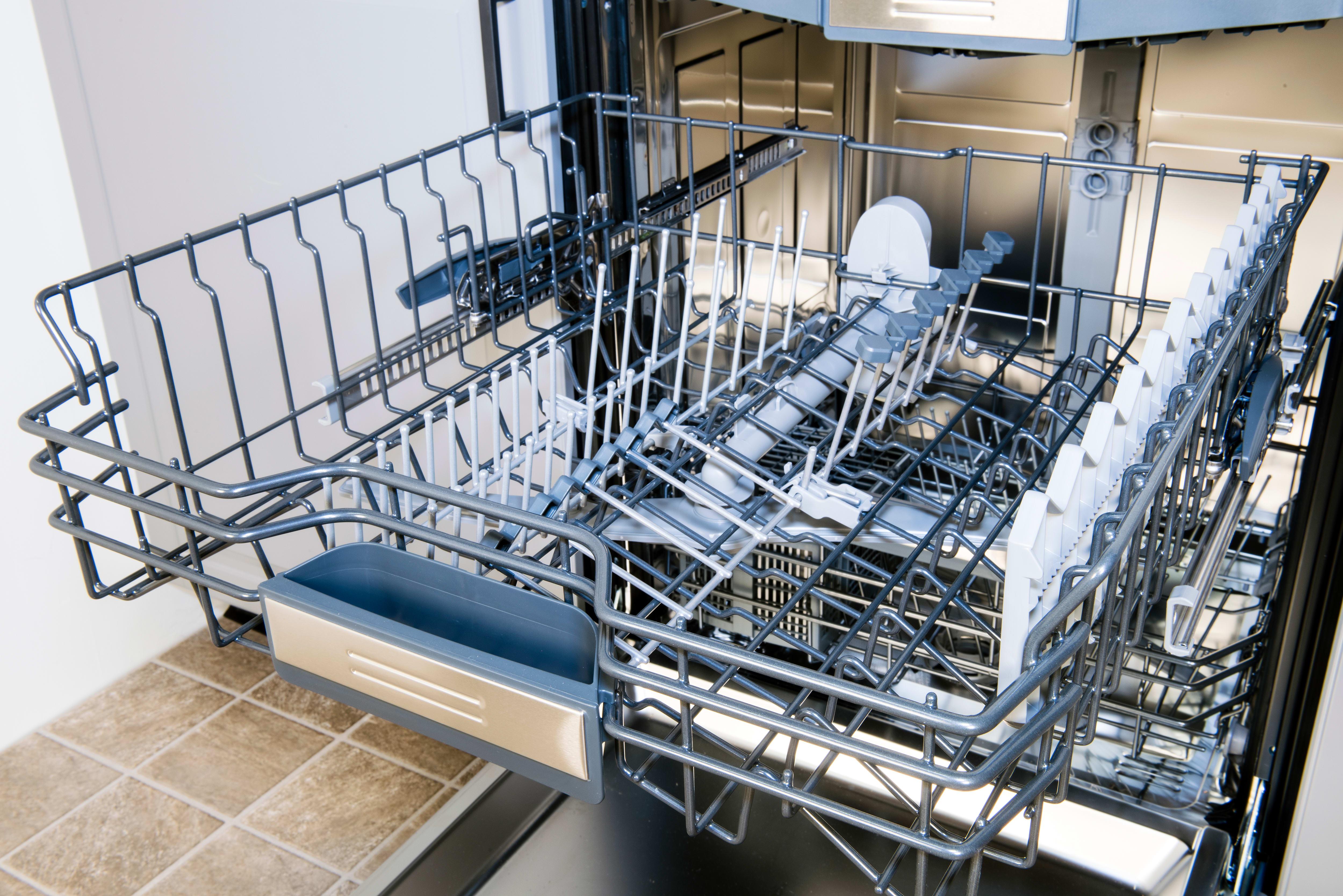 Jenn-Air JDB9600CWX empty top rack