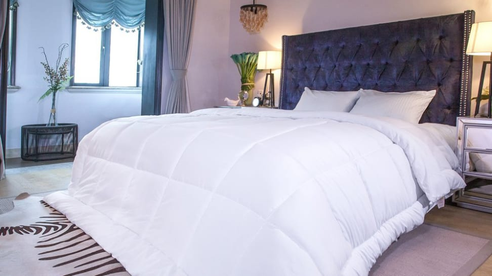 Replace your gross old comforter with a new one for less than $25