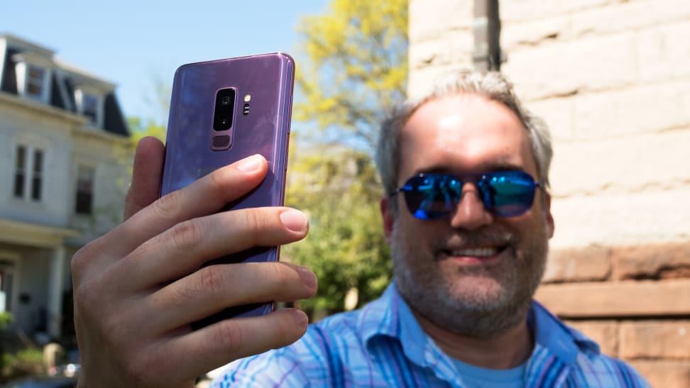 Samsung Galaxy S9+ Selfie