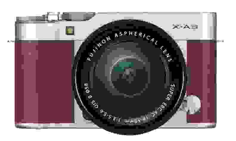 Fujifilm X-A3 Brown Front