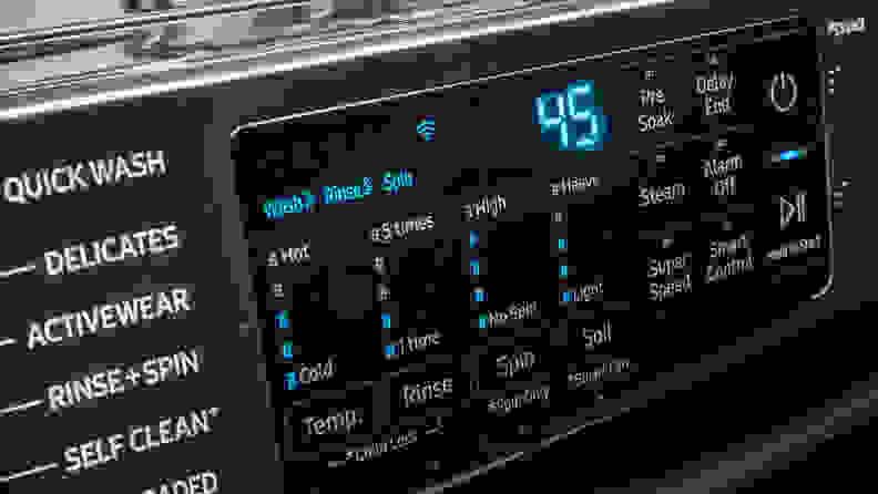 Samsung WF45R6300AV Options