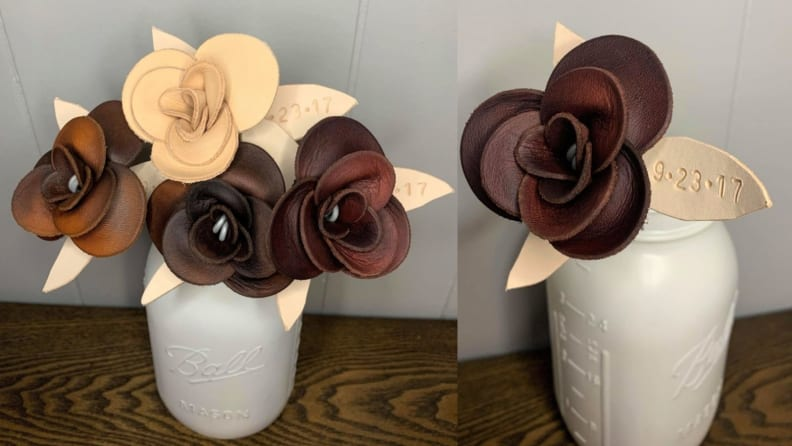 Leather Roses