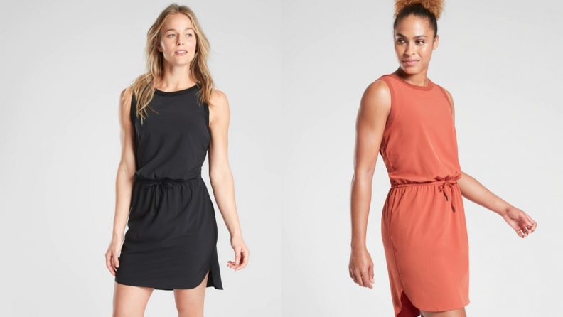 athleta silky dress