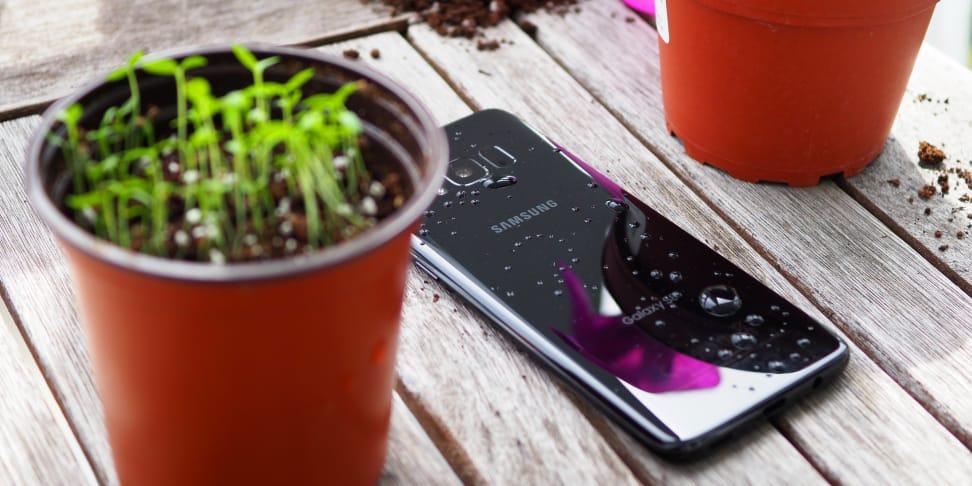 Samsung Galaxy S8 On Table