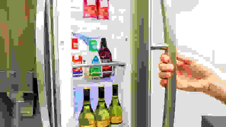 LG LRMVS3006S French door refrigerator review—door in door