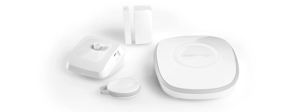 An array of SmartThings devices.