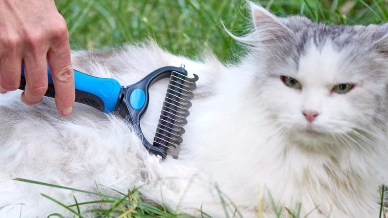 Pat Your Pet 2-Sided Pet Grooming Tool