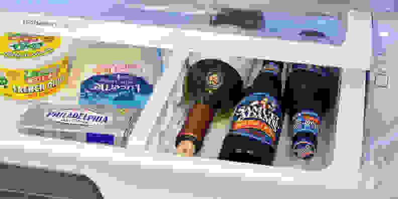 Samsung RF260BEAESR refrigerator