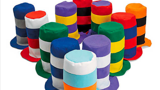 Kids Birthday Party Favors Stovepipe Hats