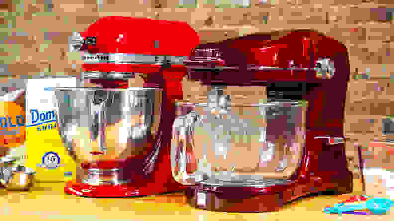 KitchenAid Artisan and Kenmore Ovation