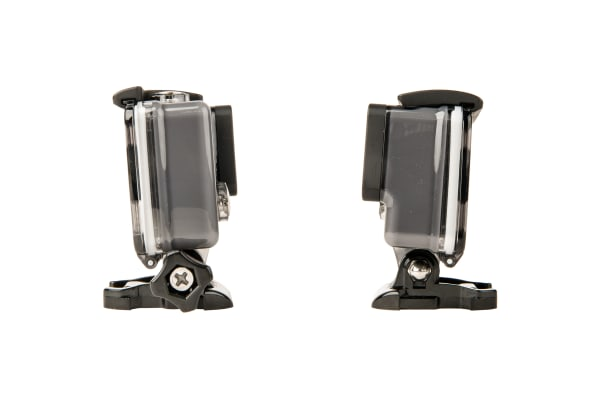 Side view of the GoPro Hero (2014)