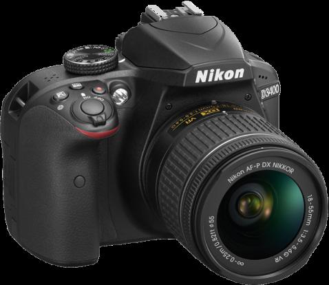 Product Image - Nikon D3400