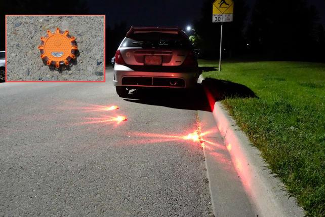 Wagan reusable EL2639 LED flares