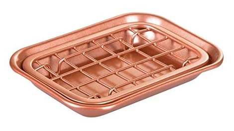 InterDesign Rose Gold Soap Dish