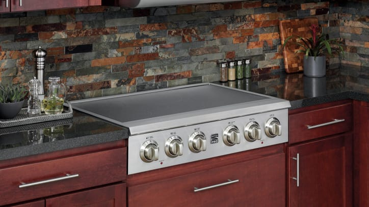 electric range top modern this odd electric rangetop is the only one of its kind kenmore pro 40403 electric rangetop review reviewedcom ovens