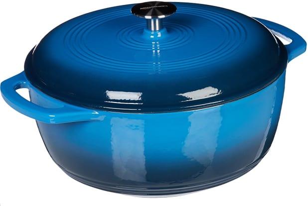 Product Image - AmazonBasics Enameled Cast Iron Dutch Oven, 6-Quart