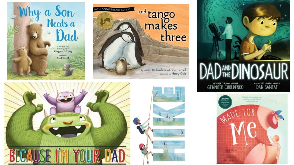 An array of children's book covers