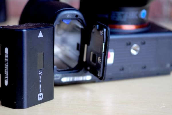 Finally: Sony's given its cameras a new, respectable battery by default.