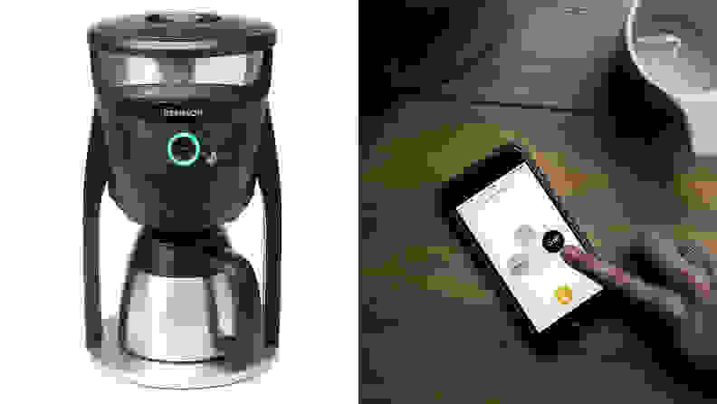 Behmor Connected Customizable Temperature Control Coffee Maker