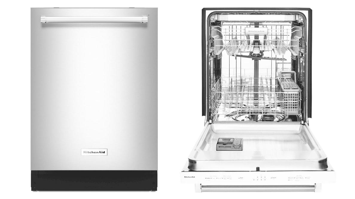 The KitchenAid KDTE234GPS dishwasher