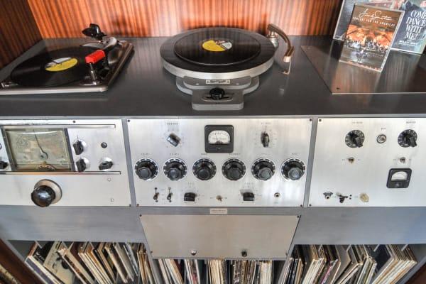Frank Sinatra Home Recording Studio