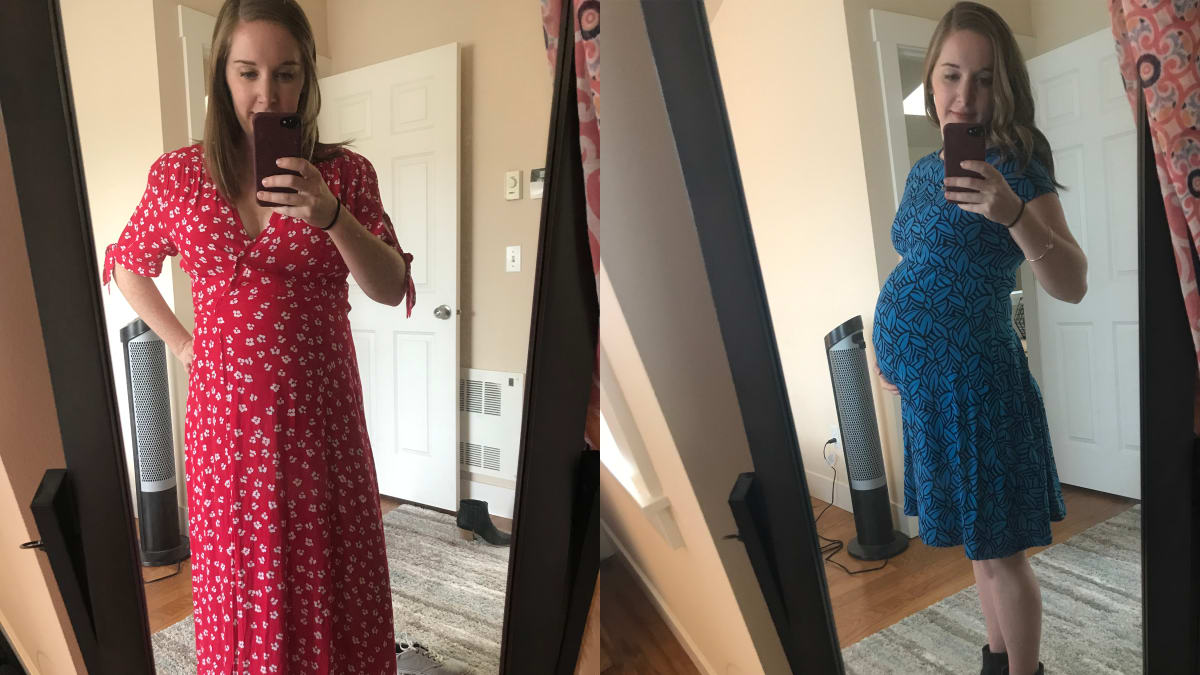I tried Rent the Runway's maternity clothing rental service—is it worth it?